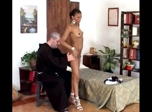priest unwraps virgin african virgin..