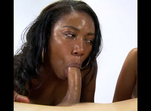 Ebony mega-bitch does not have time to..