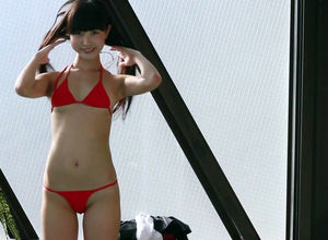 Non-Nude japanese swimsuit young..