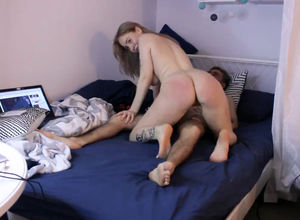 Teenage tatted gf ravaged toughly