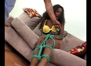 Ebony student gets her arse pounded by..